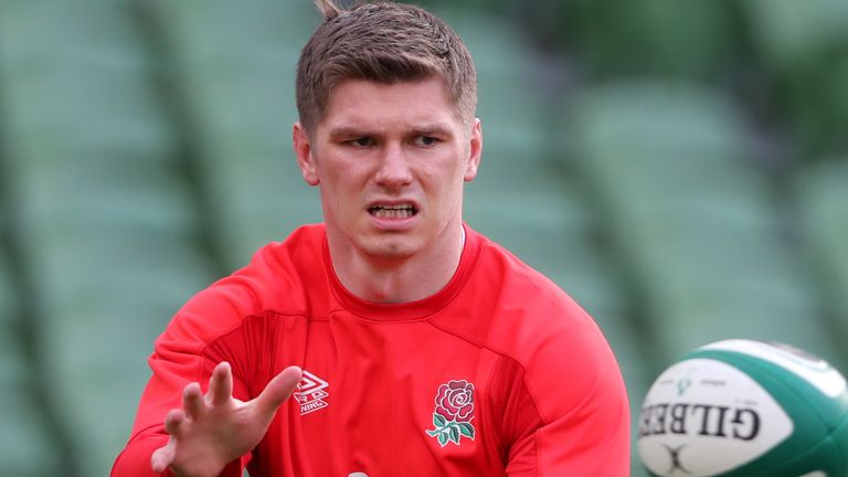 Greenwood says it would be 'almost farcical' for Eddie Jones to make a decision now on Owen Farrell's future as captain