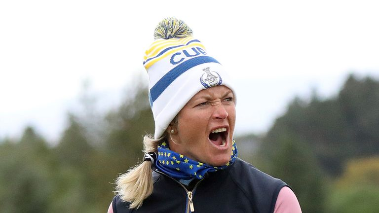 Suzann Pettersen has welcomed the addition of the ISPS Handa World Invitational to golf's calendar, an event which will see men and women will compete for equal prize money