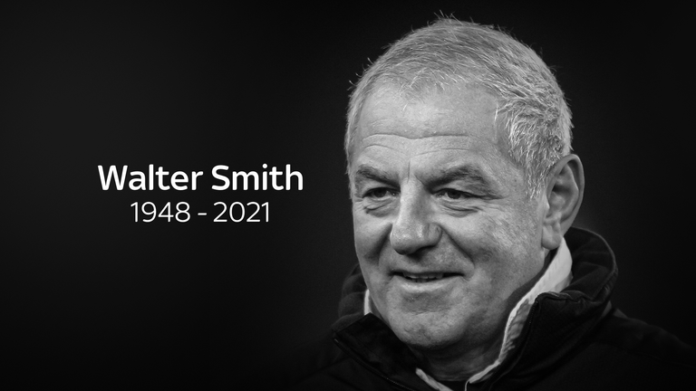 Walter Smith has died at the age of 73