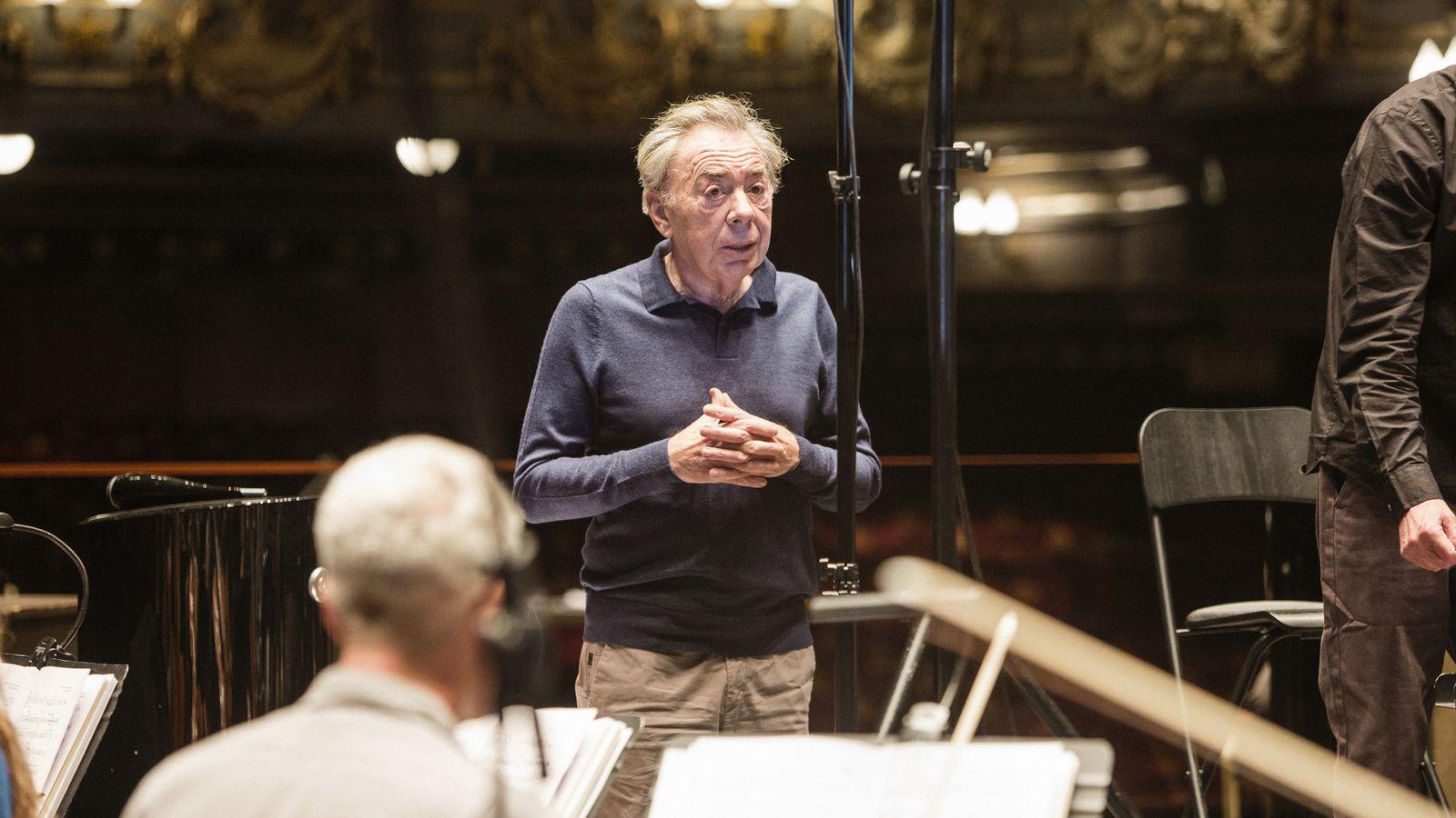 Andrew Lloyd Webber menghidupkan kembali Theatre Royal Drury Lane untuk album baru |  Berita Ents & Arts