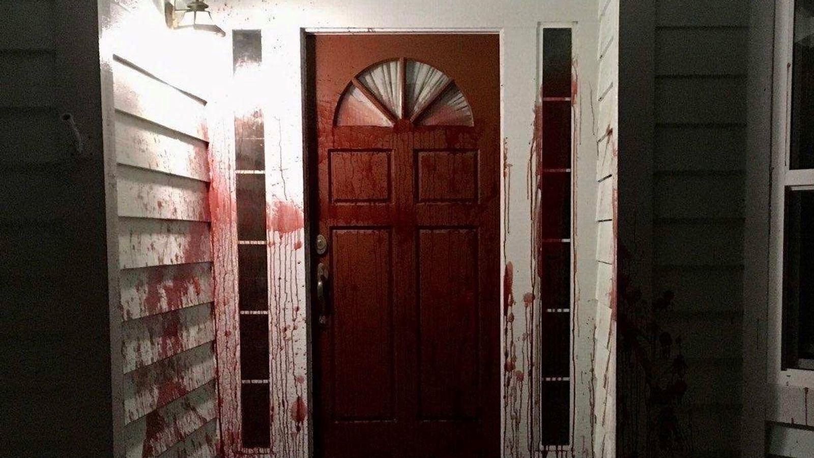 George Floyd killing: Pig's head left outside former home ...