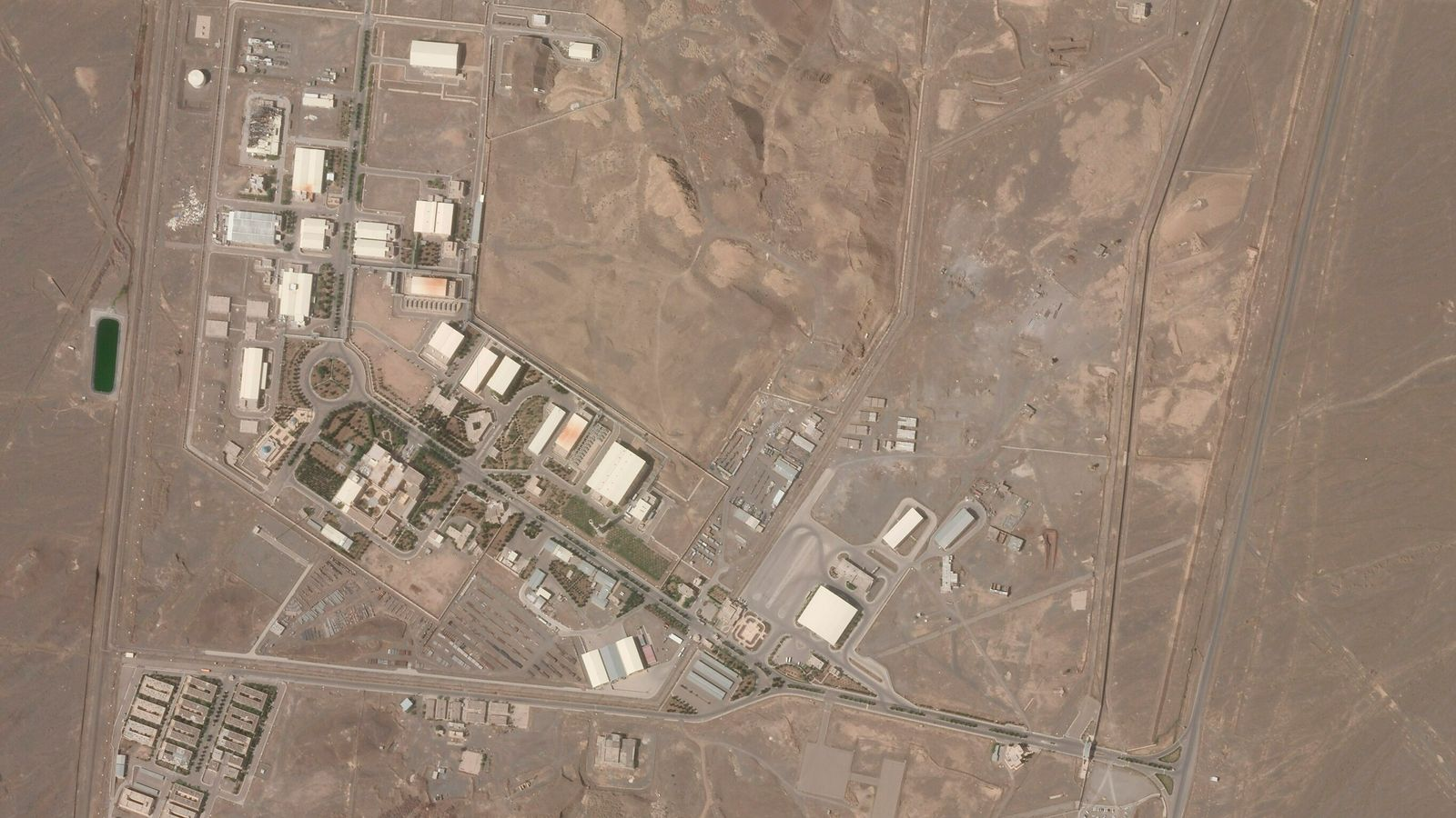 Iran calls blackout at Natanz atomic site 'nuclear terrorism' after country restarted centrifuges