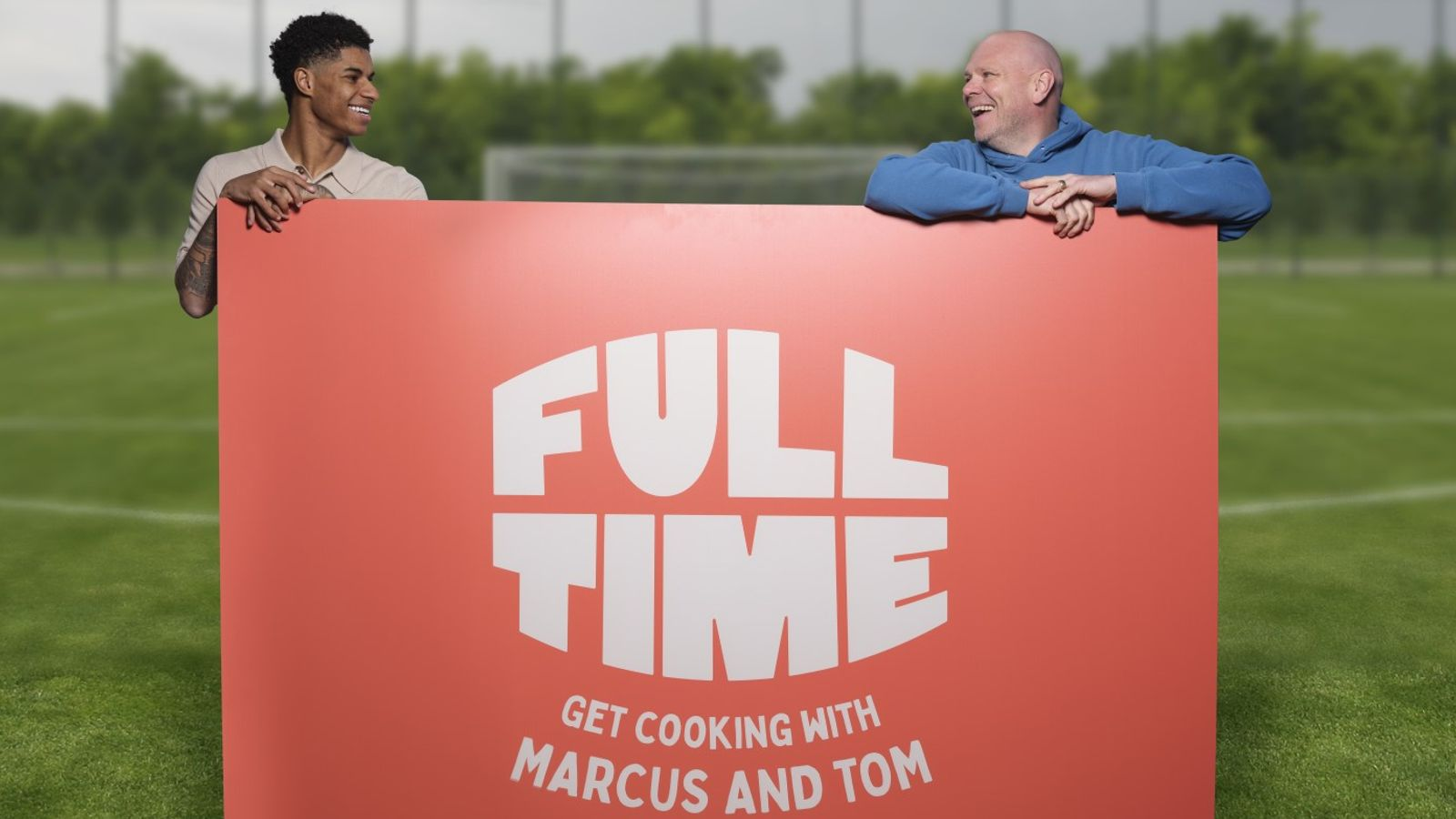 Marcus Rashford aims to give food poverty the boot as he and top chef Tom Kerridge team up for Instagram cooking tutorials