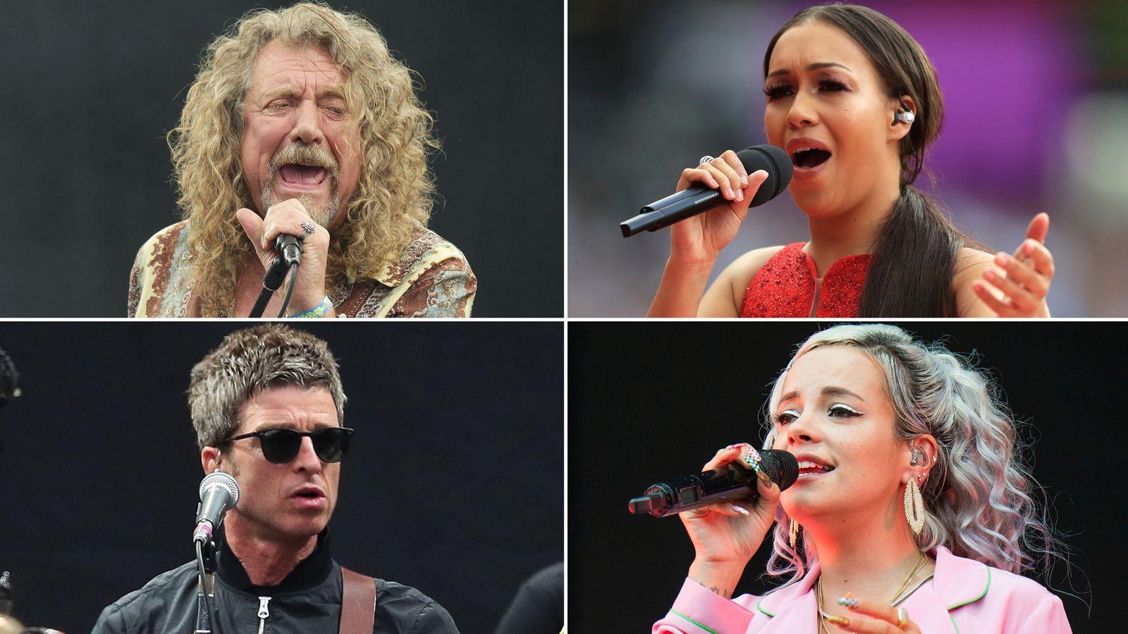Noel Gallagher, Lily Allen, Rebecca Ferguson and dozens more music stars calling on Boris Johnson to change streaming law
