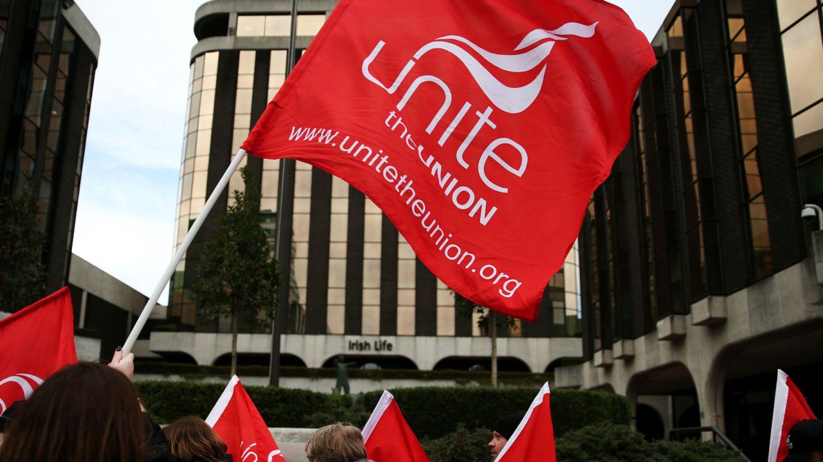 Unite leadership race under way as union announces election to decide Len McCluskey's successor
