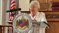 Alabama Governor Kay Ivey, Pic: AP