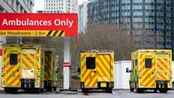 Ambulances. File pic