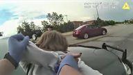 Karen Garner was arrested after she left a Walmart without paying for items valued at $13.88 (£10).