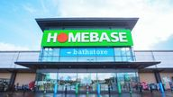 Homebase, Banbury store pictured in 2020. Pic: Homebase