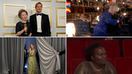 Brad Pitt, Glenn Close and Daniel Kaluuya's mum were among the highlight's from this year's Oscars. Pics: PA and 93rd OSCARS Courtesy A.M.P.A.S.