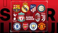 12 clubs initially signed up for the super league