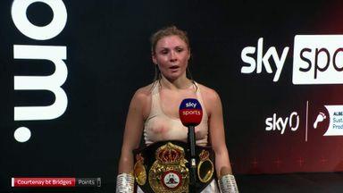 Courtenay: My jab won me the fight