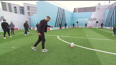 Makinson shows off his skills on Soccer AM!