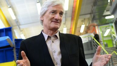File photo dated 23/03/15 of Sir James Dyson. Downing Street has said it will publish correspondence between Boris Johnson and Sir James Dyson