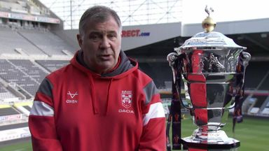 Shaun Wane excited for World Cup