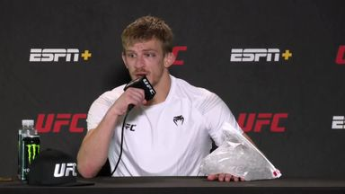 Ipswich's Allen keeps UFC undefeated streak
