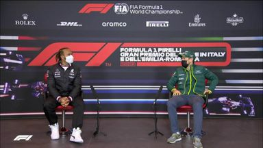 Hamilton & Vettel discuss which animal they'd be!