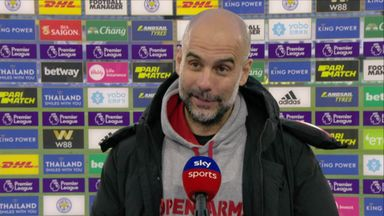 Gleeful Guardiola delighted with win