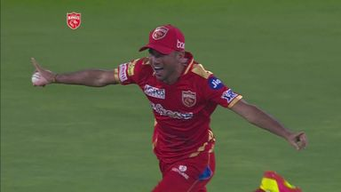Bishnoi takes wonder catch in the IPL!