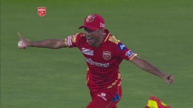 Bishnoi takes wonder catch in the IPL!