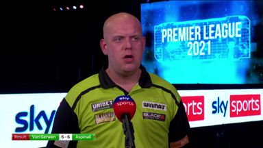 MVG: I didn't take my opportunities