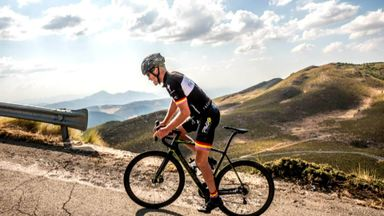Thomas cycling TdF route for charity