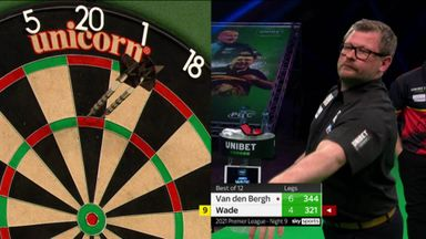 Wade breaks Dimitri with 11-dart leg