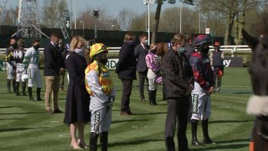 Aintree silent in respect of Prince Philip