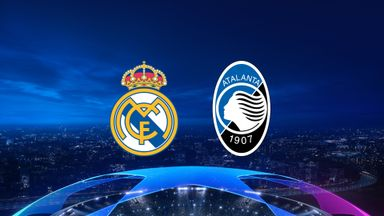 UCL: Real Madrid v Atalanta 20/21 R