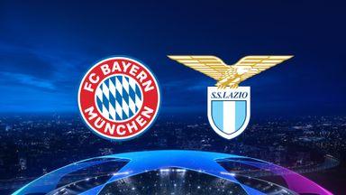 UCL: Bayern v Lazio 20/21 Rnd of 16