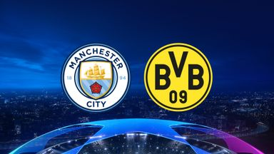 UCL: Man City v Dortmund 20/21 QF