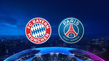UCL: Bayern v PSG 20/21 QF