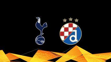 UEL: Tottenham v D Zagreb 20/21 Rnd