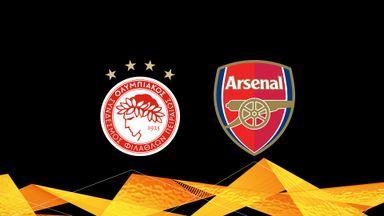 UEL: Olympiacos v Arsenal 20/21 Rnd