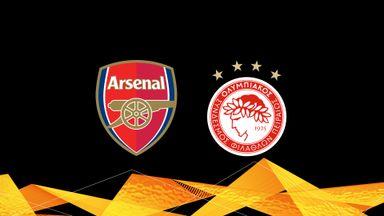 UEL: Arsenal v Olympiacos 20/21 Rnd