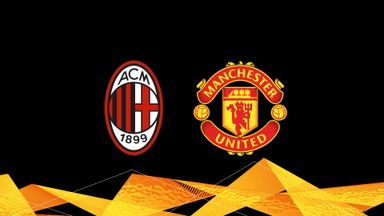 UEL: AC Milan v Man Utd 20/21 Rnd o