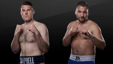 Nick Campbell v Petr Frohlich