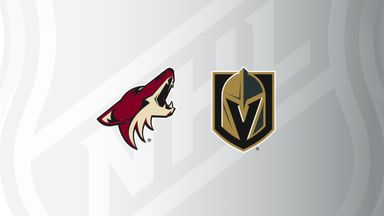 NHL: Coyotes @ Golden Knights