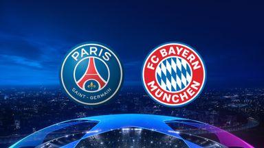 UCL: PSG v Bayern 20/21 QF