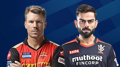 IPL: Sunrisers H v RCB Hlts