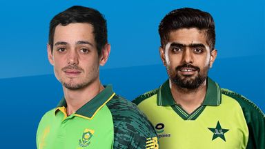 South Africa v Pakistan 3rd T20