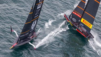 Story Of The 36th America's Cup
