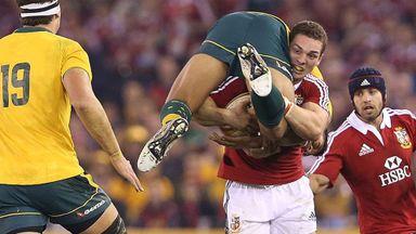 Aus v Lions 2nd Test Highlights
