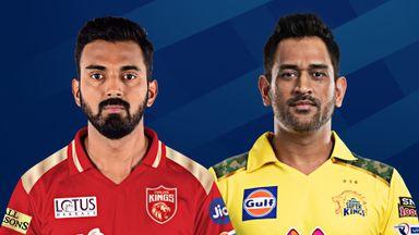 IPL: Punjab Kings v CSK Hlts