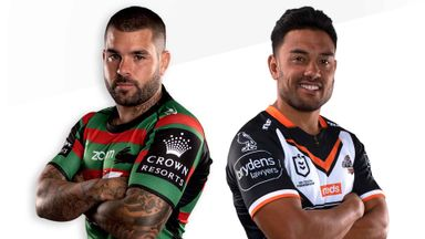 NRL: Rabbitohs v Wests Tigers