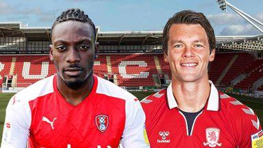 EFL Hlts:Rotherham v Middlesbrough