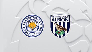 PL: Leicester v WBA