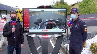 SkyPad: Perez takes P2