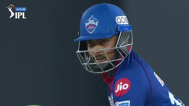Shaw hits six fours in an over in IPL!