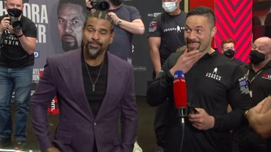 'Fight will be off if Chisora walks on first'